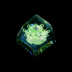 Jelly Key Artisan Resin Keycaps For Mechanical Keyboards 025