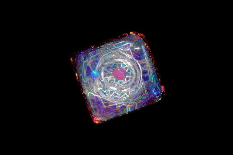 Jelly Key Artisan Resin Keycaps For Mechanical Keyboards 041