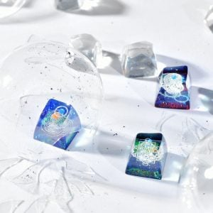 Jelly Key Artisan Resin Keycaps For Mechanical Keyboards 062