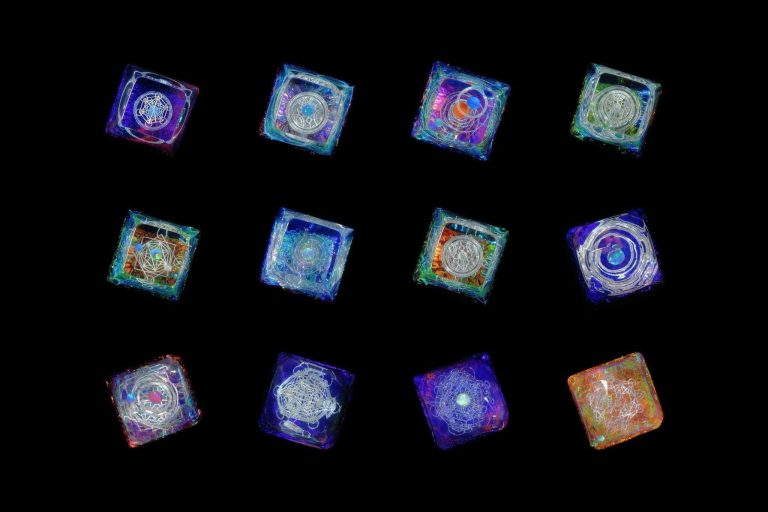 Jelly Key Artisan Resin Keycaps For Mechanical Keyboards 111