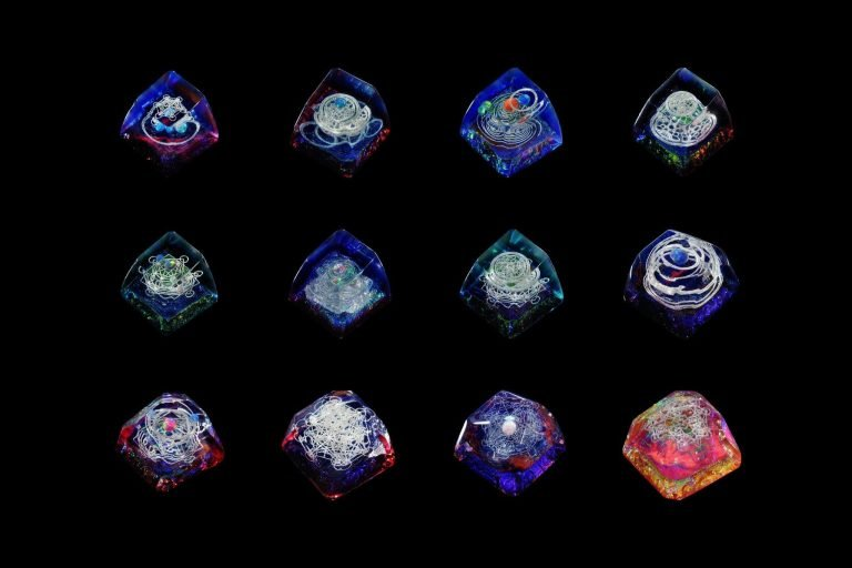 Jelly Key Artisan Resin Keycaps For Mechanical Keyboards 113