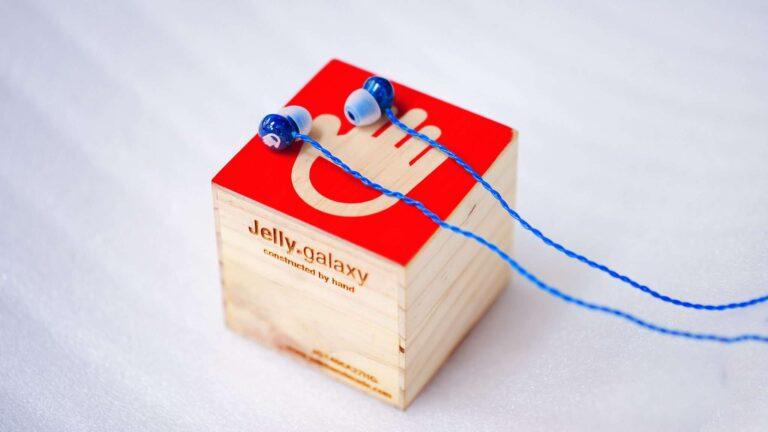 02 handmade headphones jelly galaxy