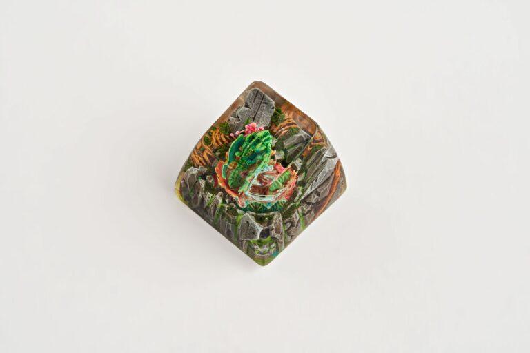 1jelly Key Resin Keycap Dragon3