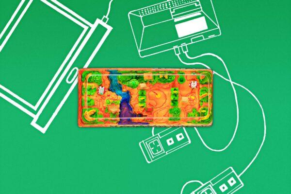 8bits Series Artisan Keycaps 003