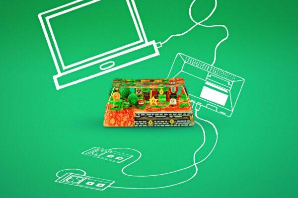 8bits Series Artisan Keycaps 008