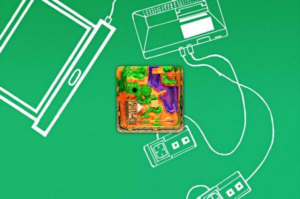 8bits Series Artisan Keycaps 016