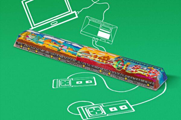 8bits Series Artisan Keycaps 020