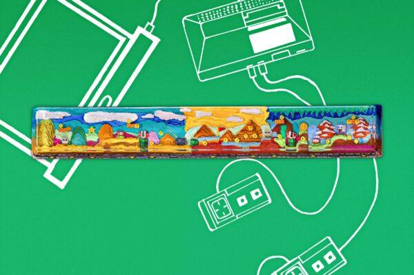 8bits Series Artisan Keycaps 022