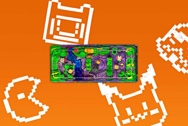 8bits Series Artisan Keycaps 050