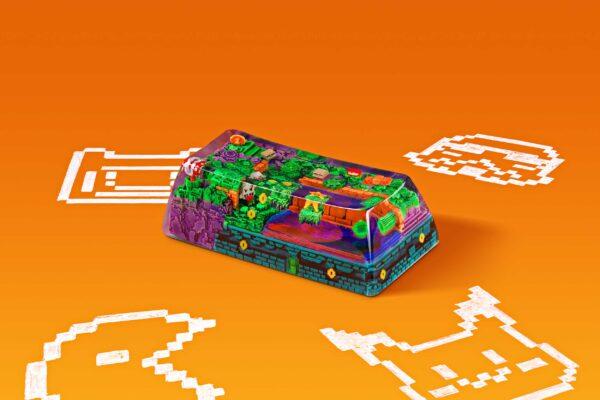 8bits Series Artisan Keycaps 051