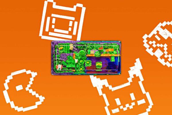 8bits Series Artisan Keycaps 054