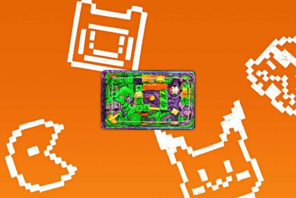 8bits Series Artisan Keycaps 056