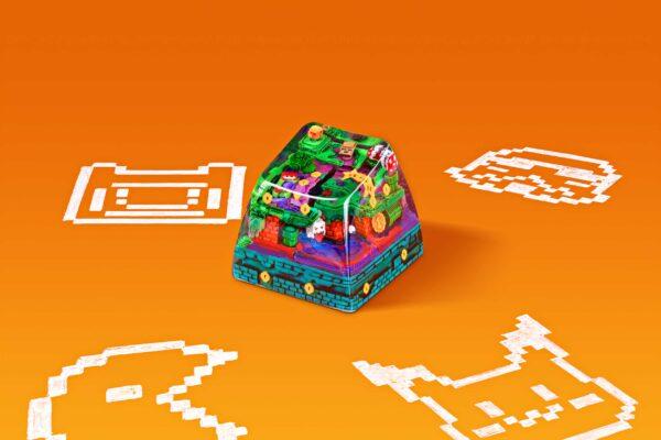 8bits Series Artisan Keycaps 058