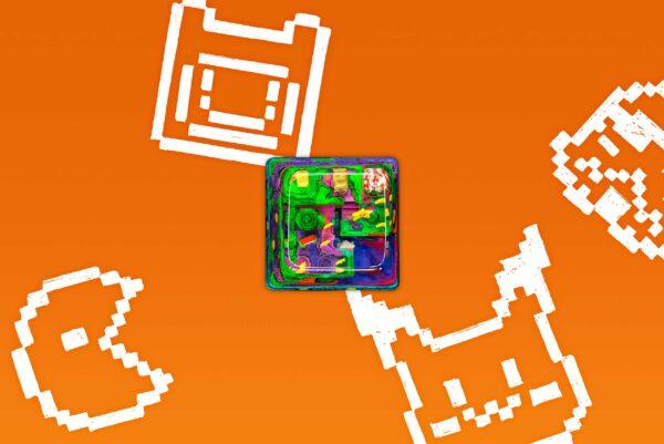 8bits Series Artisan Keycaps 060