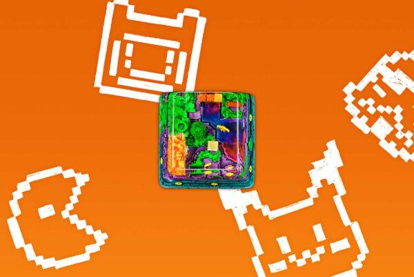 8bits Series Artisan Keycaps 063