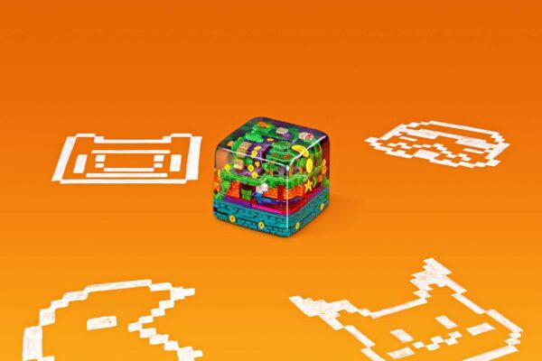 8bits Series Artisan Keycaps 065