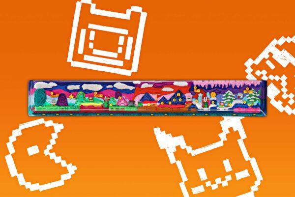 8bits Series Artisan Keycaps 070