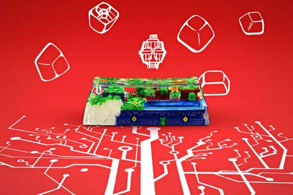 8bits Series Artisan Keycaps 099