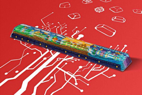 8bits Series Artisan Keycaps 114
