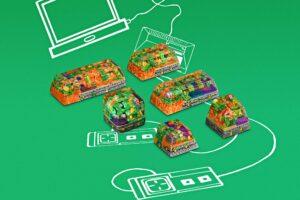 8bits Series Artisan Keycaps 128