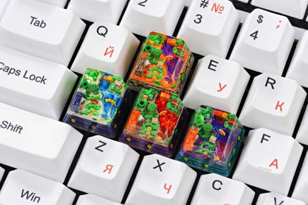 8bits Series Artisan Keycaps 142