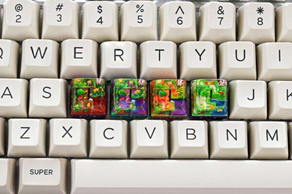 8bits Series Artisan Keycaps 143