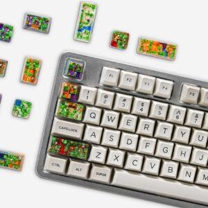 8bits Series Artisan Keycaps 145