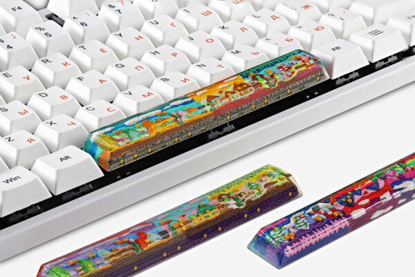 8bits Series Artisan Keycaps 147
