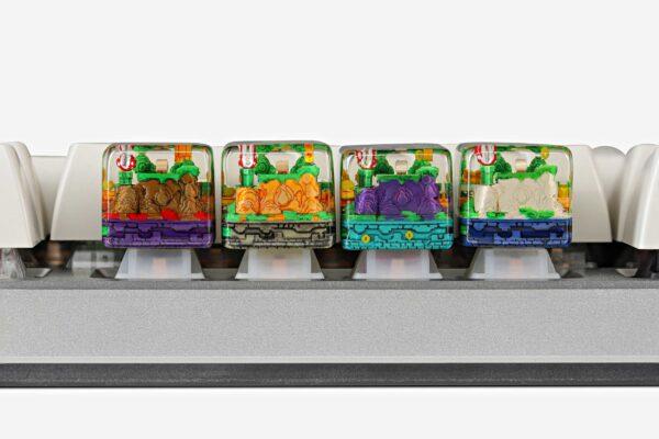 8bits Series Artisan Keycaps 152