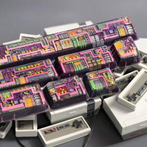 8bits series artisan keycaps 2038