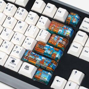8bits series artisan keycaps 2043