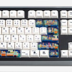 8bits series artisan keycaps 2054