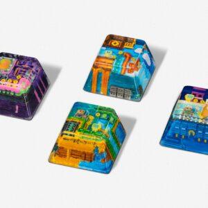 8bits series artisan keycaps 2059