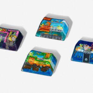 8bits series artisan keycaps 2060