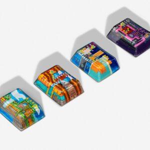 8bits series artisan keycaps 2061