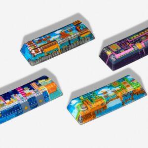 8bits series artisan keycaps 2064