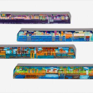 8bits series artisan keycaps 2065