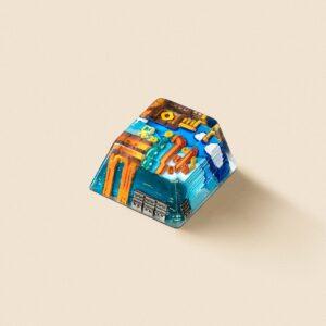 8bits series artisan keycaps 2066
