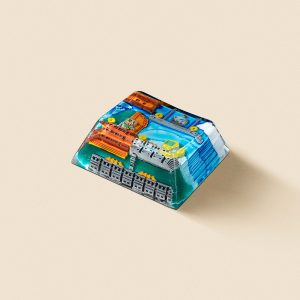 8bits series artisan keycaps 2069