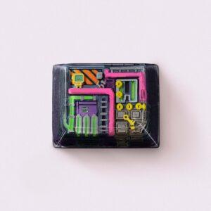 8bits series artisan keycaps 2091