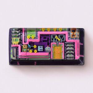 8bits series artisan keycaps 2097