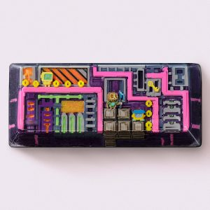 8bits series artisan keycaps 2100