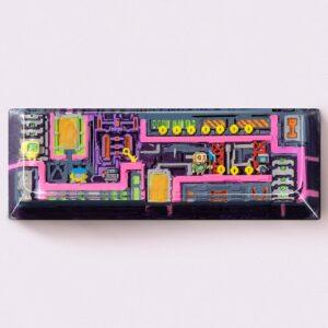 8bits series artisan keycaps 2103