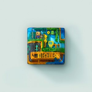8bits series artisan keycaps 2109
