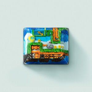 8bits series artisan keycaps 2112