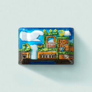 8bits series artisan keycaps 2115