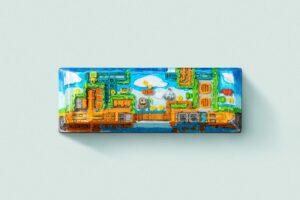 8bits series artisan keycaps 2124