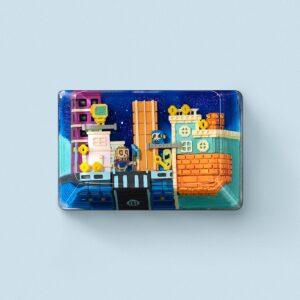 8bits series artisan keycaps 2136
