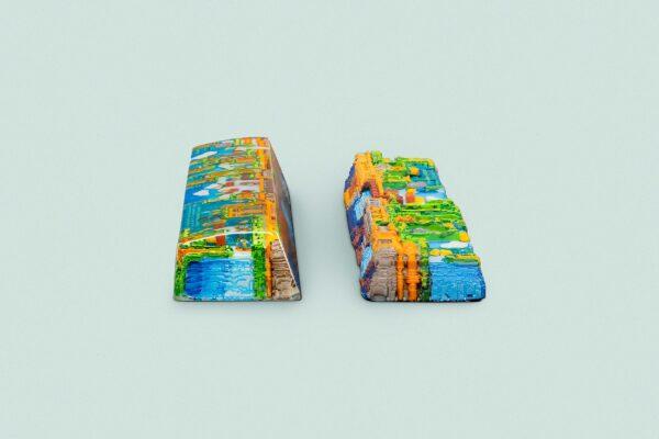 8bits series artisan keycaps 2188