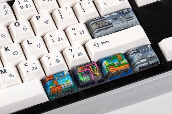 8bits series artisan keycaps 2193